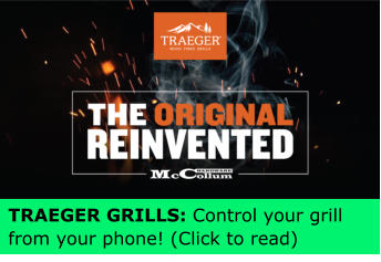 TRAEGER GRILLS: Control your grill  from your phone! (Click to read)